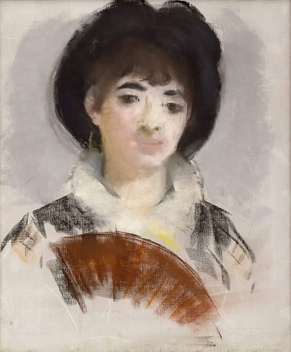 Portrait of Countess Albazzi. Édouard Manet