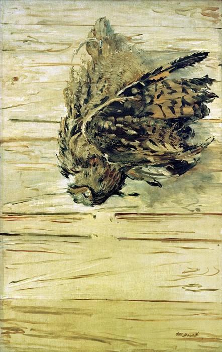 Dead Eagle Owl. Édouard Manet