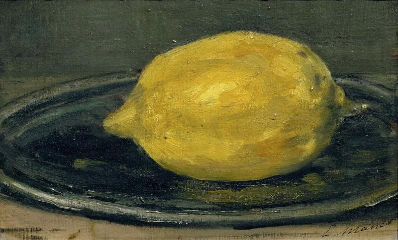 The lemon. Édouard Manet