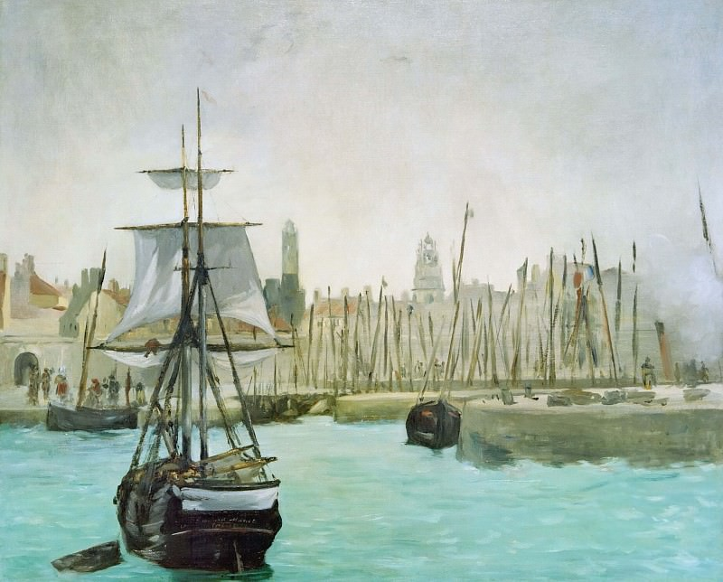 The Port of Calais. Édouard Manet