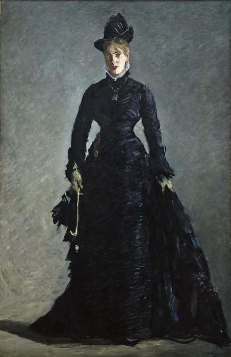 A Parisian Lady. Édouard Manet