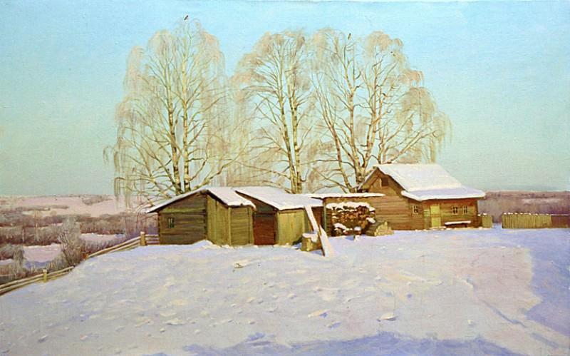 Зима. Мороз и солнце.. Анохин Николай Юрьевич
