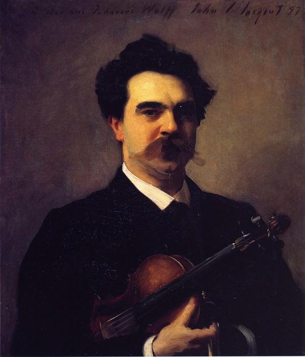Johannes Wolff. John Singer Sargent
