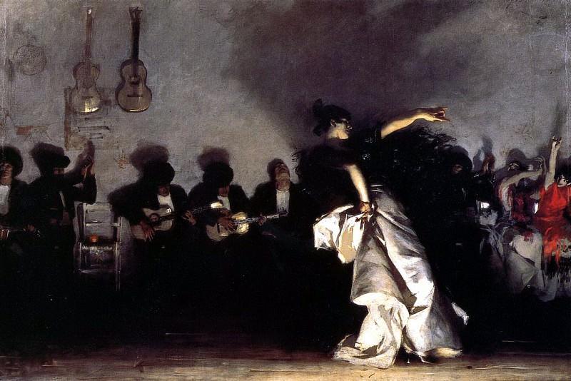 El Jaleo. John Singer Sargent