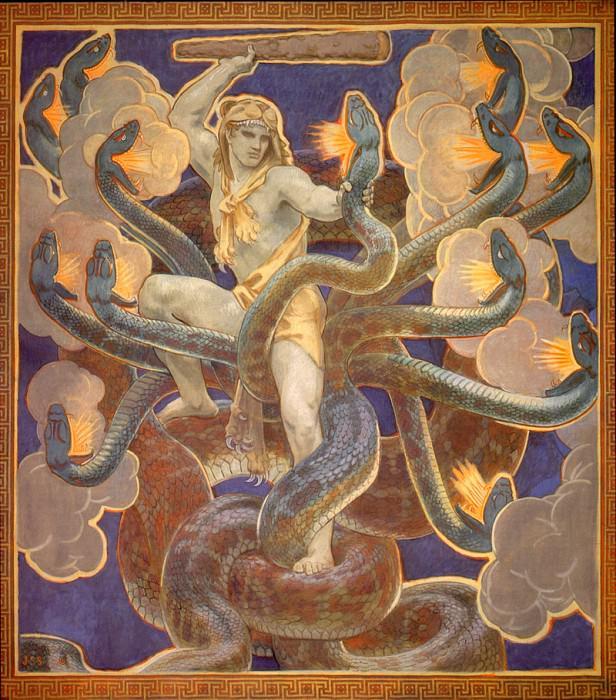 Hercules. John Singer Sargent