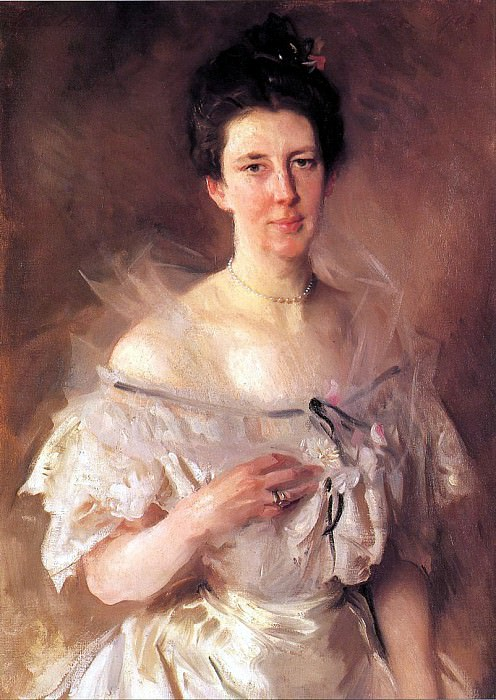 Mrs. Gardiner Greene Hammond. John Singer Sargent