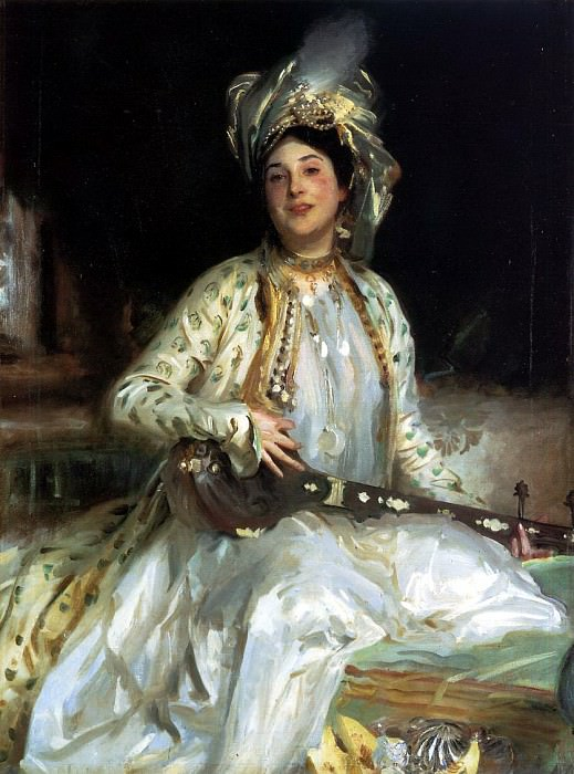 Almina, Daughter of Asher Wertheimer. John Singer Sargent