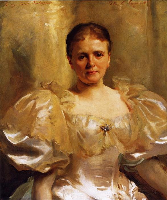 Mrs. William Shakespeare (Louise Weiland). John Singer Sargent