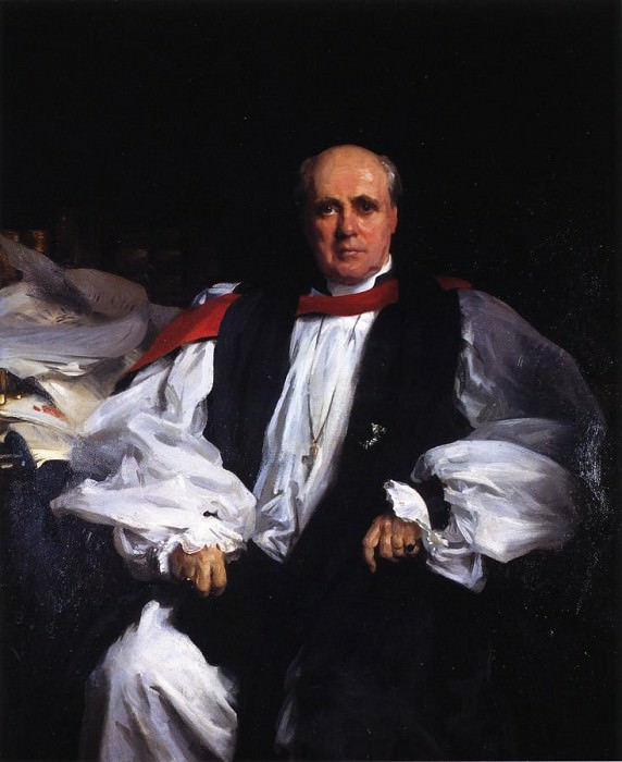 The Archbishop of Canterbury (Randall Thomas Davidson). John Singer Sargent