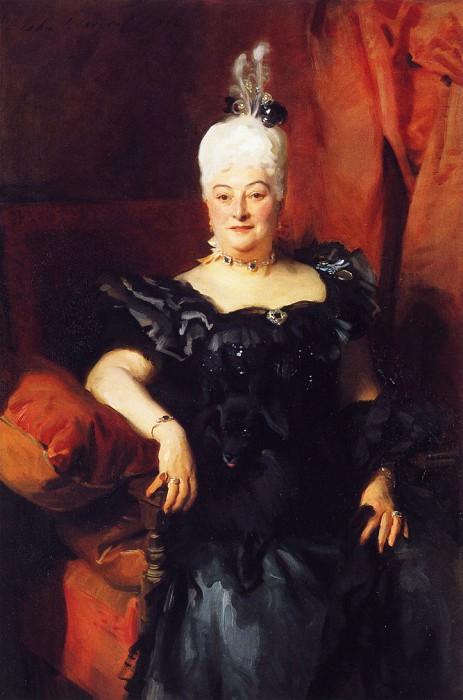 Lady Fauden-Phillips (Helen Levy). John Singer Sargent