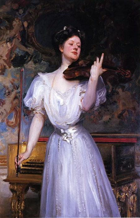 Lady Speyer (Leonora von Stosch). John Singer Sargent