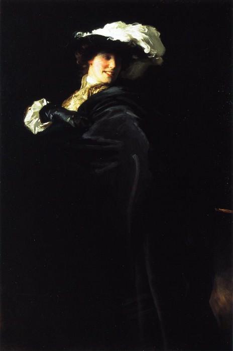 A Vele Gonfie (Ena Wertheimer). John Singer Sargent