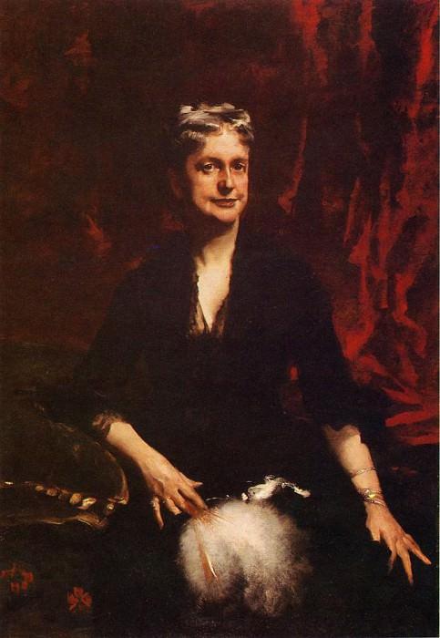 Mrs. John Joseph Townsend (Catherine Rebecca Bronson). John Singer Sargent