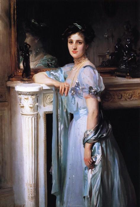 Mrs. Louis Raphael. John Singer Sargent