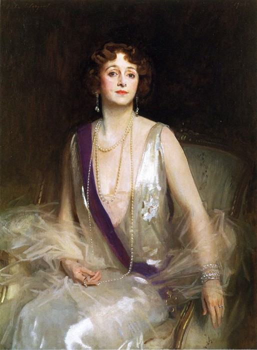 The Marchioness Curzon of Kedleston. John Singer Sargent