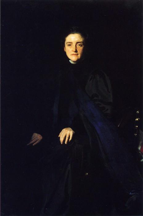 M. Carey Thomas. John Singer Sargent