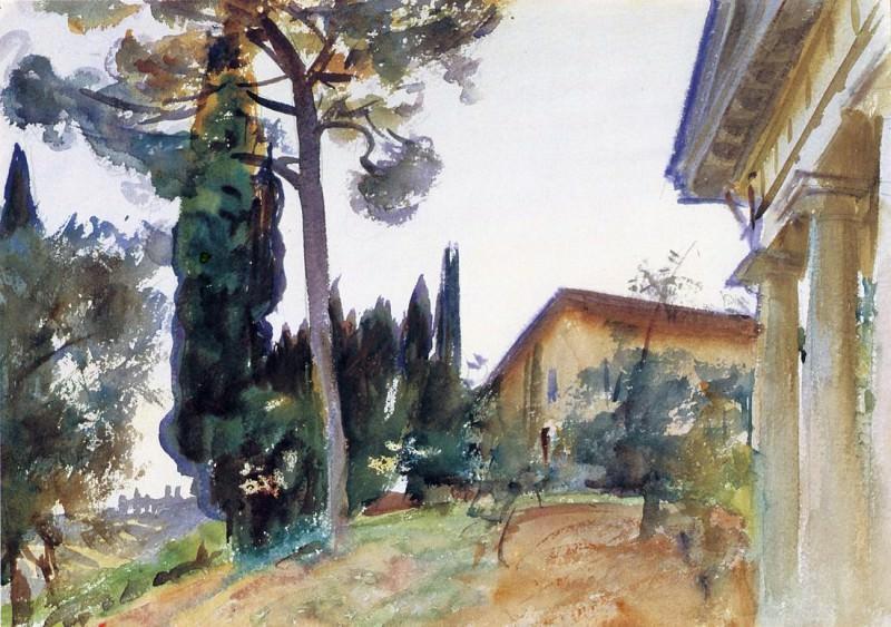 Corfu. John Singer Sargent