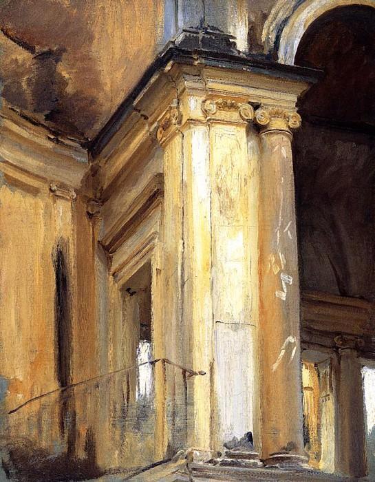 Roman Architecture. John Singer Sargent