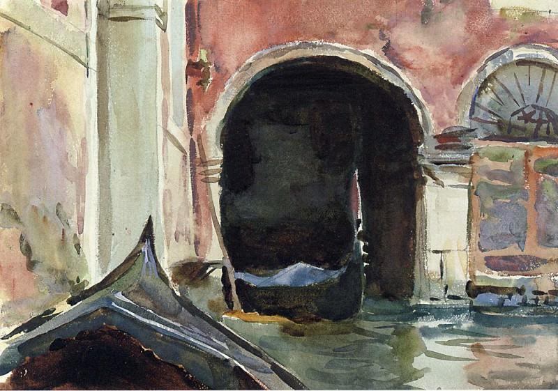Venetian Canal. John Singer Sargent