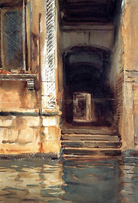 Venetian Doorway. John Singer Sargent