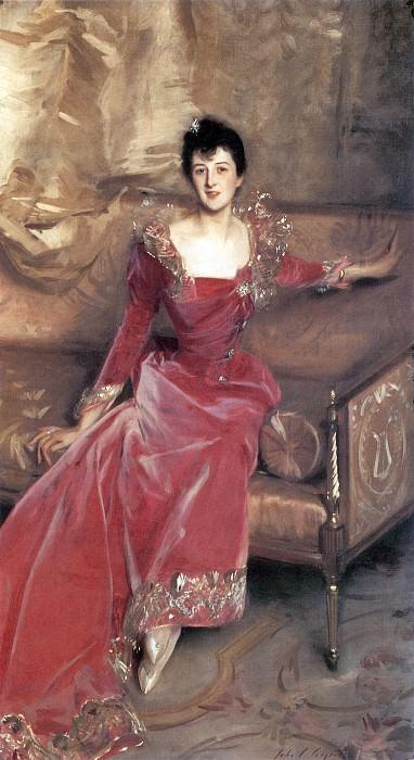 Mrs. Hugh Hammersley. John Singer Sargent