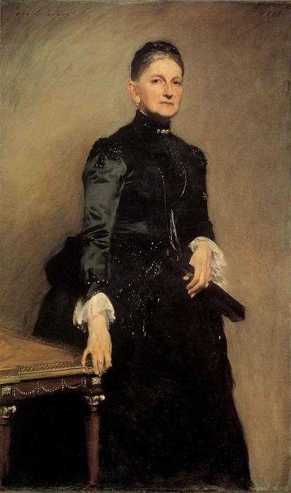 Mrs Adrian Iselin. John Singer Sargent