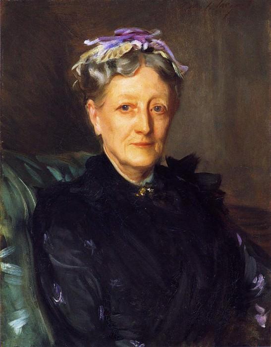 Mrs. Frederick Mead (Mary Eliza Scribner). John Singer Sargent