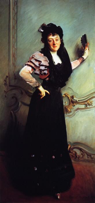 Mrs. Walter Bacon (Virginia Purdy Barker). John Singer Sargent