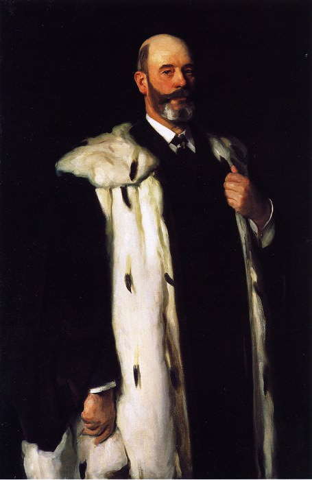 Sir David Richmond. John Singer Sargent