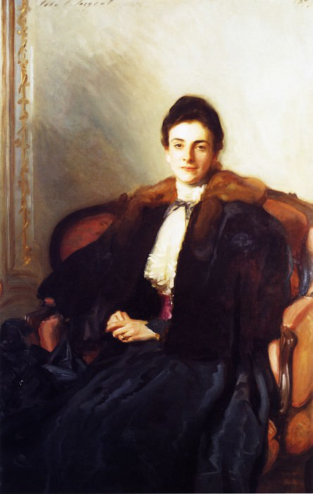 Mrs. Harold Wilson (Anna Margary). John Singer Sargent