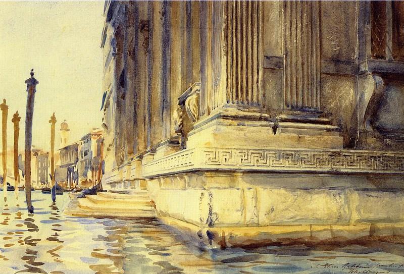 Palazzo Grimani. John Singer Sargent