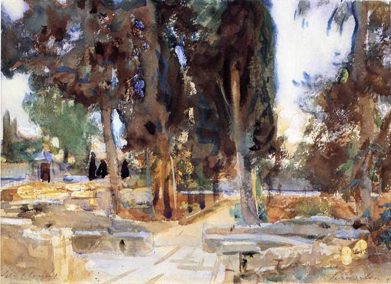 Jerusalem. John Singer Sargent