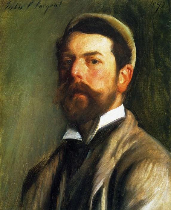 Self Portrait. John Singer Sargent