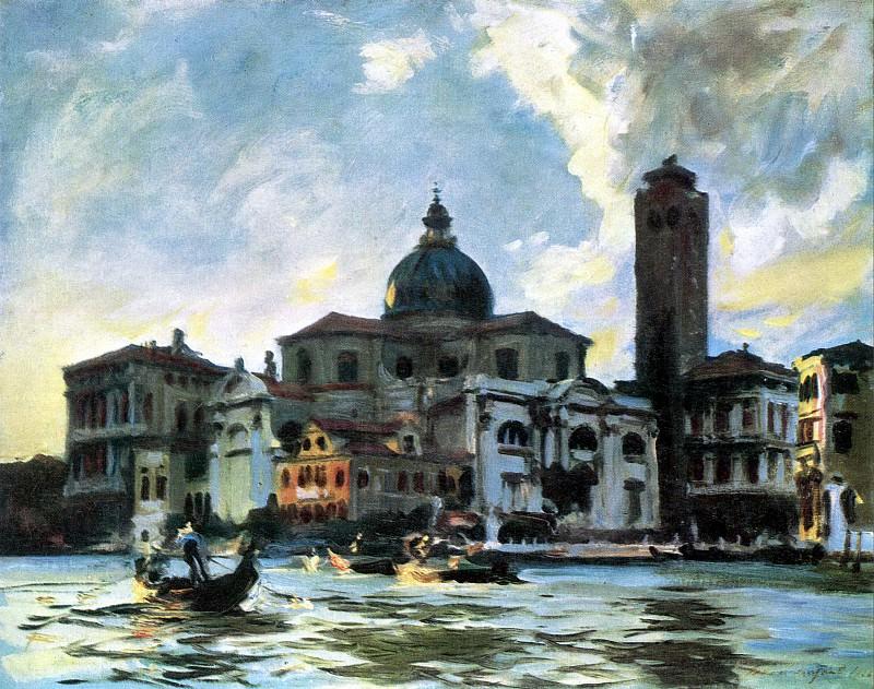 Palazzo Labbia, Venice. John Singer Sargent