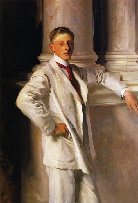 The Earle of Dalhousie. John Singer Sargent