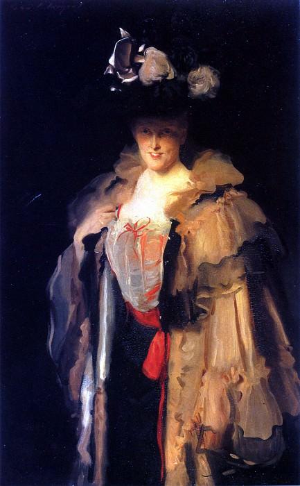 Mrs. Charles Hunter (Mary Smyth). John Singer Sargent