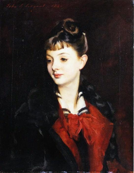 Mademoiselle Suzanne Poirson. John Singer Sargent