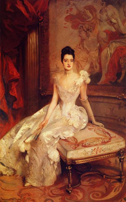 Mrs. Hamilton McKown Twombly (Florence Adele Vanderbilt). John Singer Sargent