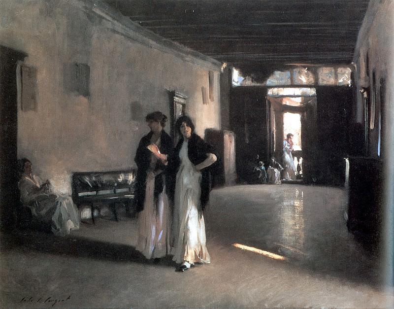 Venetian Interior. John Singer Sargent