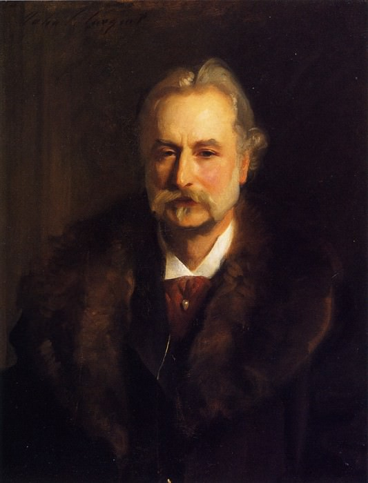 Sir George Lewis. John Singer Sargent