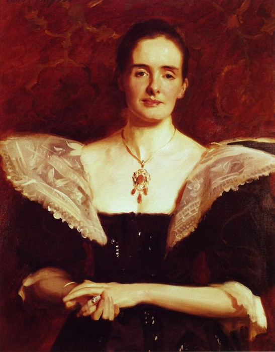 Mrs. William Russell Cooke. John Singer Sargent