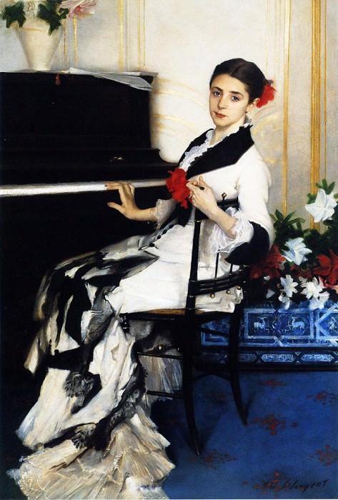 Madame Ramon Subercaseaux. John Singer Sargent