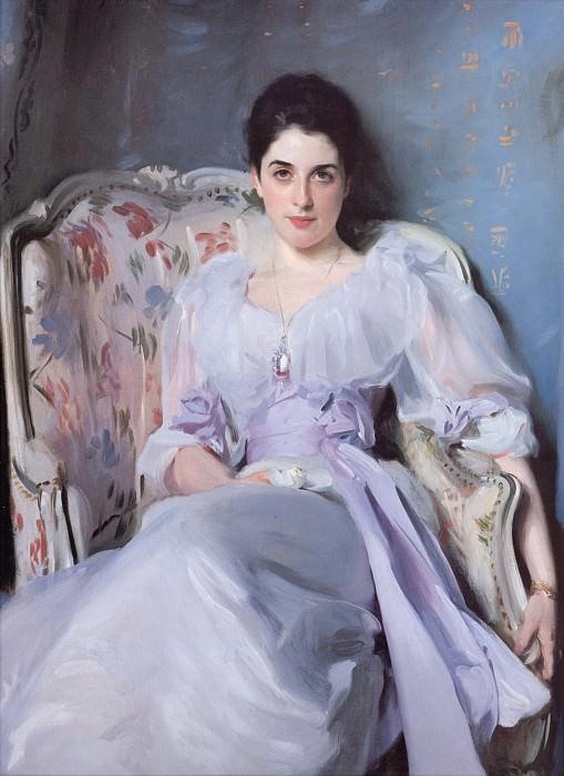 Lady Agnew of Lochnaw. John Singer Sargent
