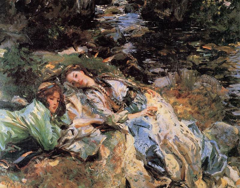 The Brook. John Singer Sargent