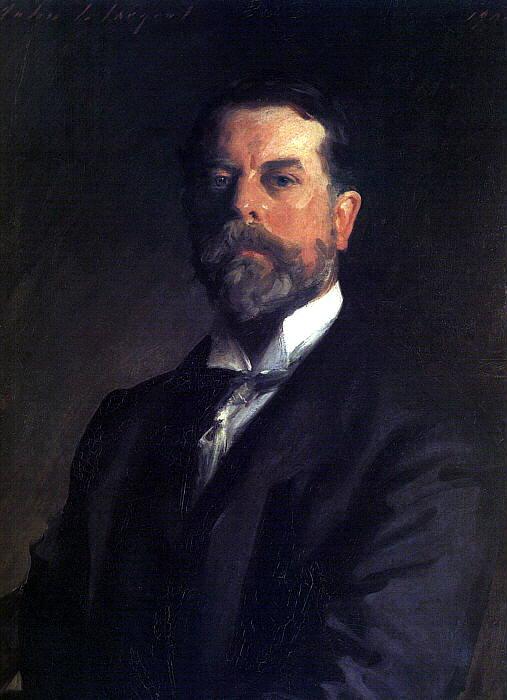 John Singer Sargent - autoportrait. John Singer Sargent