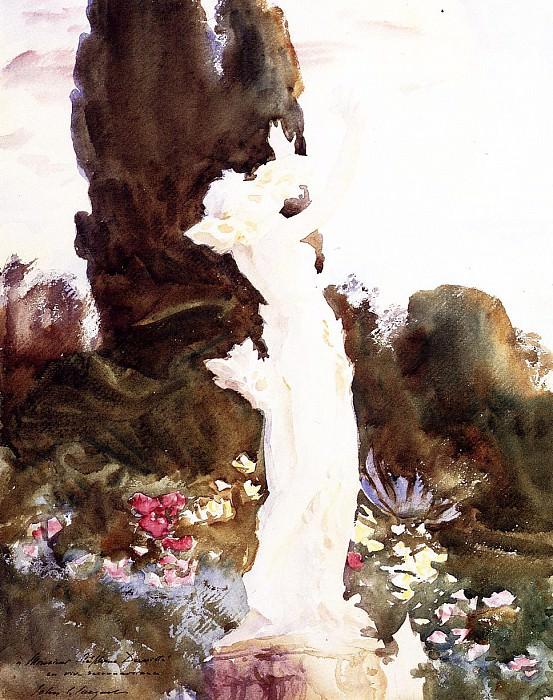 Garden Fantasy. John Singer Sargent