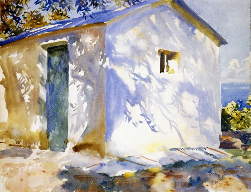 Corfu. Lights and Shadows. John Singer Sargent