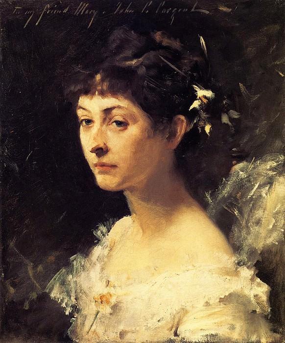 Mary Turner Austin. John Singer Sargent