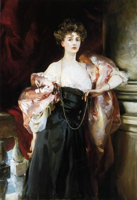 Lady Helen Vincent, Viscountess dAbernon. John Singer Sargent