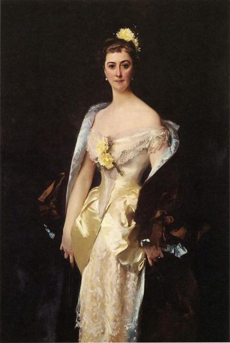 Caroline de Bassano, Marquise d'Espeuilles. John Singer Sargent